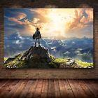 The Legend of Zelda Poster 40x60 50x75 60x90cm Breath of the Wild Print Silk