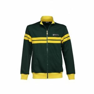 New Men's Vespa Racing Sixties Fleece ~ Green/Yellow ~ 3XL ~ #607508MG