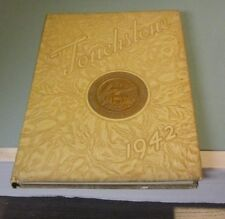 1942 Hood College Touchstone Yearbook Frederick Maryland Women Sports Vintage