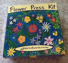 Gondwana Flower Press Kit Wood Paper Crafts Scrapbook Card Decor New Zealand NOS
