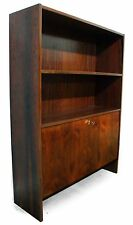 one 1960s 1970s retro vintage DANISH ROSEWOOD BOOKCASE SHELVING UNIT CABINET