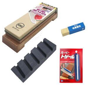 King 1000/6000 Grit KW-65 Japanese Sharpening Whetstone Combo - Choose Option
