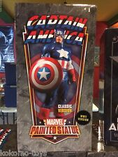 "2007 Bowen Bust Statue MIB - Captain America 12"" Inch WWII Version #704/800"