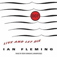 James Bond: Live and Let Die Vol. 2 by Ian Fleming (2014, MP3 CD)