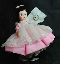 "Madame Alexander Beth 412 8"" Little Women Series w/ Box & Stand & Sew"