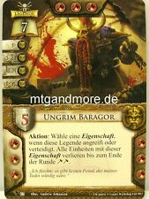 Warhammer Invasion - 1x Ungrim Baragor  #022 - Fragmente der Macht