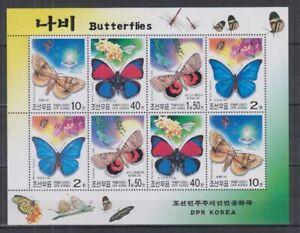 F466. Korea - MNH - Insects - Butterflies - Full Sheet