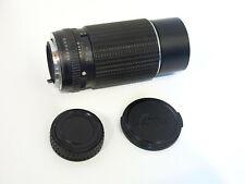 Vintage SMC Pentax 200mm f/4 Prime Lens in P/K mount