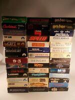 Lot Of 41 VHS Movies Mixed Genre, Braveheart, Speed, Apollo 13, Spaceballs