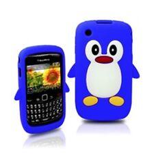 KOLAY Pingüino Funda De Silicona Para Blackberry Curve 8520