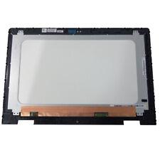 "Dell Inspiron 15 (5568) Lcd Touch Screen Digitizer & Bezel 15.6"" FHD YM0K7"