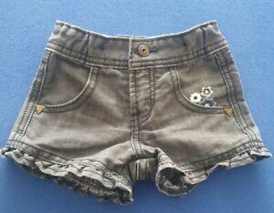 Guess Jeans SHORTS Girls Black  SKIRT KIDS 12MONTHS SIZE 1