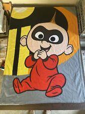 "New listing Disney The Incredibles 2 Jack-Jack Baby Blanket 49""×35"""