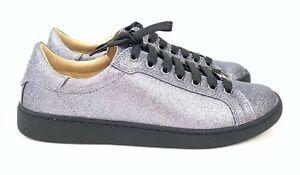 UGG Milo Gunmetal Gitter Women's Sneakers, Tennis Shoes Lace Up 1100213