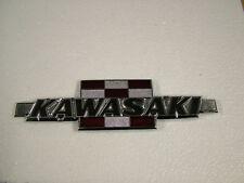 KAWASAKI GA 100 SERIES, GA1-A, GA2-A,  '71-'74 CAST REPRODUCTION TANK BADGE.