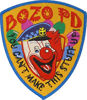 BOZO POLICE DEPARTMENT SHOULDER PATCH