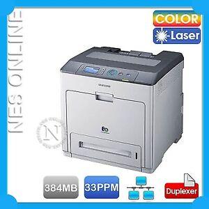 Samsung CLP-775ND Color Laser Network Printer+Duplexer /w K609S Toner SC *RFB*