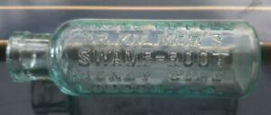Vintage Dr. Kilmers Swamp Root Kidney Cure Sample Bottle London E.C.