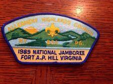 MINT 1989 JSP Allegheny Highlands Council Blue Border