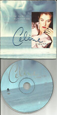 CELINE DION Because you loved me / I don't Know 2TRX LIMITD CARDED USA CD single