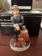 Sebastian Miniatures Coal Miner -2962- Nib