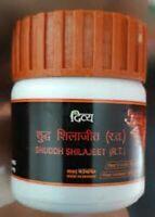 Divya Shilajeet Shuddh Shilajit (20 gm/0.70 oz) RAMDEO Patanjali - Free Shipping