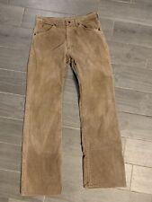 New listing Vintage Mens Sears Roebucks Size 32x33 70s Tan Brown corduroy pants