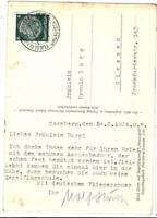 """Karte von Wolf Hirth vom 24.05.1934 an Ulla Burg, mit seiner """"Moazagotl"""""""