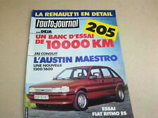 L AUTO JOURNAL - N° 4  - ANNEE  1983  *
