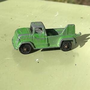 Tootsietoy Midget GMC Wrecker C451 Tow Truck Original Paint 1966