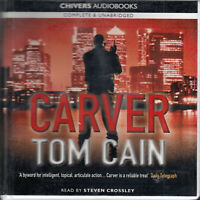 Tom Cain Carver 10CD Audio Book Unabridged Lehman Brothers Financial Thriller