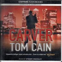 Tom Cain Carver 10CD Audio Book Unabridged Lehman Brothers Financial Thriller
