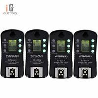 4x Yongnuo Wireless Flash Trigger RF-605N LCD For Nikon D5200 D5100 D3100 D90