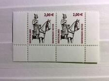 Bund MiNr. 2314 postfrisches Paar Vom Unterrand