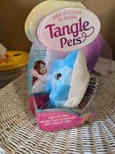 Tangle Pets Hair Brush Fin The Dolphin Detangler Brush From Shark Tank Brand New