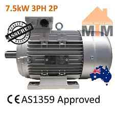 7.5kW 10HP 2800rpm shaft 38mm Air Compressor motor Electric 3Ph Three Phase 415V