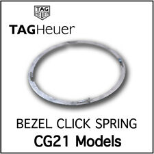 Rotating Bezel Click Spring Stainless Steel Swiss Made For TAG Heuer CG21 Models