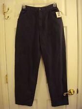 Women's Regatta Clothing Co Blue Flat Front Khaki Pants Size 12 New W/ Tag