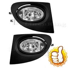 New Fog Lights Bumper Lamps Light Kit - Clear For 02-05 Honda Civic Si EP3
