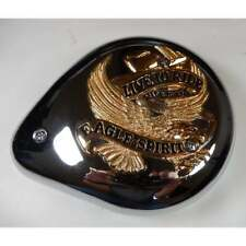 "Harley-Davidson Air Filter Complete Tear Drop Gold Banner ""Live to Ride"""