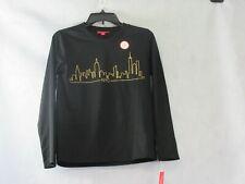 Family Pajamas Unisex Kids Boys or Girls Pajama Top, Black New York, XL, 14-16