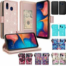 Alcatel 3v 2019 Cute Wallet Phone Case Cover w/Kickstand for Girls Women