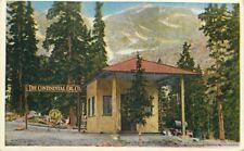1920s Glen Cove Colorado Continental Oil Gas Station Roadside Postcard