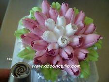Russian Tips Nozzle Cream Decorating tip / Spring tulip / #14 made in Russia
