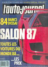 L'AUTO-JOURNAL - Numéro Spécial - SALON 87