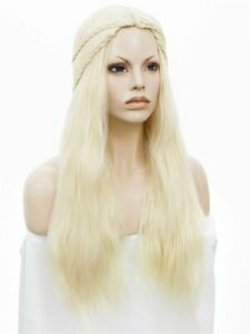 Cosplay Costume Wig for GOT Daenerys Targaryen Fancy Dress Costume