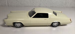 Johan 1967 Cadillac Eldorado Dealer Promo Persian Ivory W Black W Box Nice