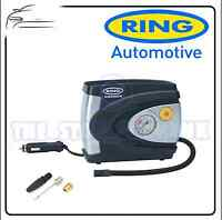 Ring 12v Analogue Tyre Compressor & Adapter Kit RAC610