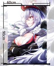 Anime Azur Lane Graf Zeppelin Wall Scroll Poster Home Decor Gift 60*90cm#0126