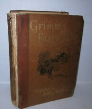 Arthur Rackham Grimm's Fairy Tales 1909 1st US Edition Scarce